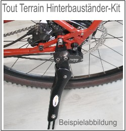 Ständer: Hinterbauständer-Kit Tout Terrain  29,- Euro