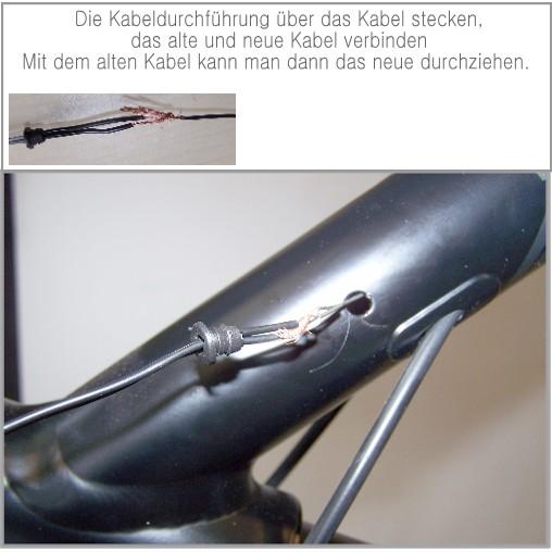 fahrrad kabel verbinden